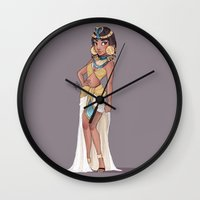 laia Wall Clocks featuring Cleopatra by Laia™