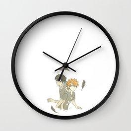 Hinata and Kageyama Wall Clock