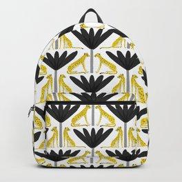 Cheetah and Palms Backpack