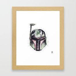 B O B A Framed Art Print