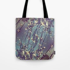 Flower Flip Tote Bag