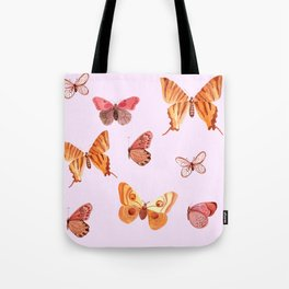 Summer buteflies Tote Bag