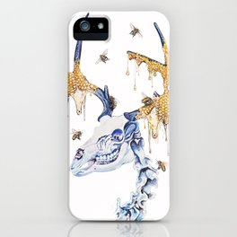 borne from your oblivion you are exalted iPhone Case