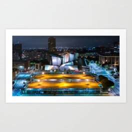 Concert Hall In LA Art Print