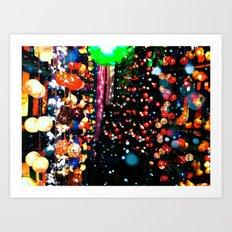 Light UP Art Print