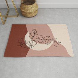 Abstract Mooon Rug