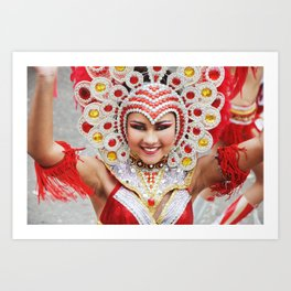 Tiny Dancer - Carnaval 2015 Art Print