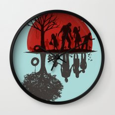 A Family Once Wall Clock