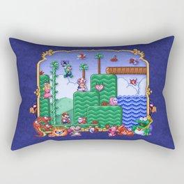 Mario Super Bros, Too Rectangular Pillow