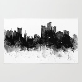 Detroit Rise From The Ashes Rug