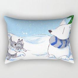 Snowpack Rectangular Pillow