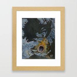 Gulp 2 Framed Art Print