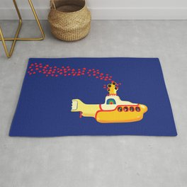 Submarine Rugs For Any Room Or Decor Style Society6