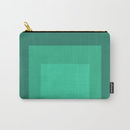 Block Colors - Mint Green Carry-All Pouch