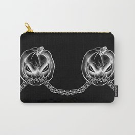 HALLOWEEN PUMPKIN JACK WITH CHAIN Carry-All Pouch