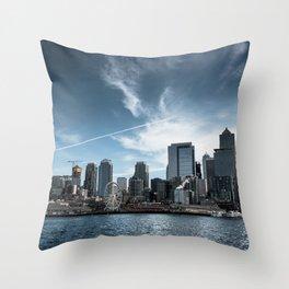 USA Photography - Seattle Throw Pillow