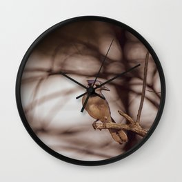 The Blue Jay Wall Clock