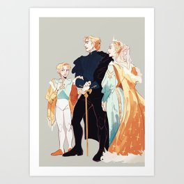 Veretian Royal Family Art Print