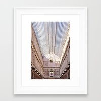 brussels Framed Art Prints featuring brussels by Beau Colin