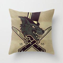 1888 Throw Pillow