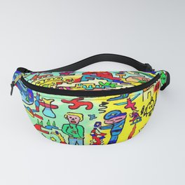 The severe officer Fanny Pack