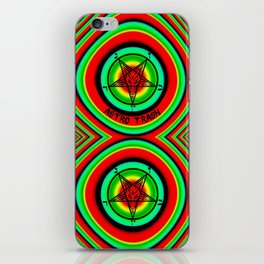 Trippy Satanic iPhone Skin