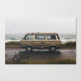 Westfalia// Beach Canvas Print