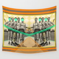 arnold Wall Tapestries featuring Eight years of basketball by AmDuf