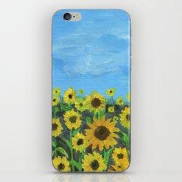 Sunflower Field iPhone Skin