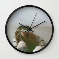 socks Wall Clocks featuring Socks by kdyj