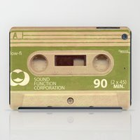 tape iPad Cases featuring Mix-Tape by @DrunkSatanRobot