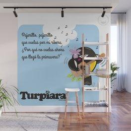 Turpiara y Pajarillo Wall Mural