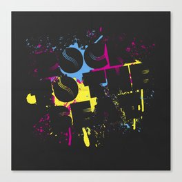 Rock To The Beat Canvas Print