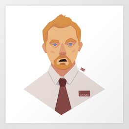 Shaun Art Print