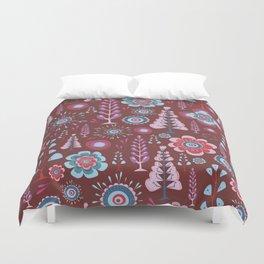 Tree pattern Duvet Cover