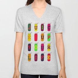Juice up your life! Unisex V-Neck