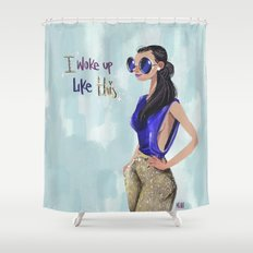 Blue chic  Shower Curtain