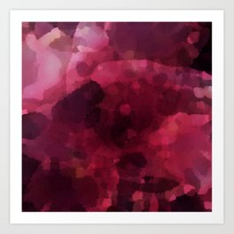 Spilled Wine Art Print