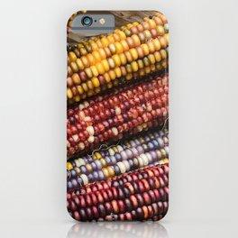 Native American ('Indian Corn') Autumn-Fall Harvest Celebration iPhone Case