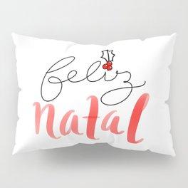 feliz Natal Pillow Sham