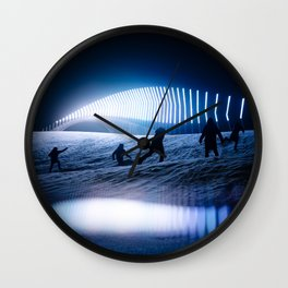 blinded by the lights Wall Clock