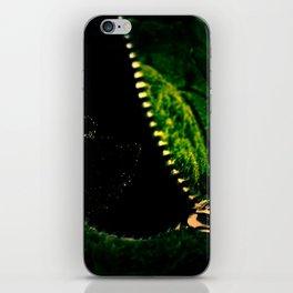 Unzipped Earth iPhone Skin