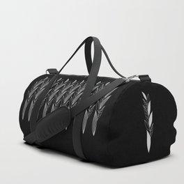 Eternity in Silver Leaf II Duffle Bag