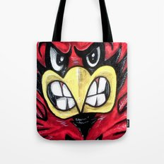 Fighting Cardinal Tote Bag