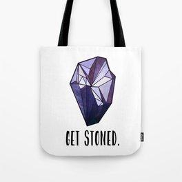 Get Stoned - Amethyst Tote Bag