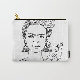 Frida Adopt Carry-All Pouch