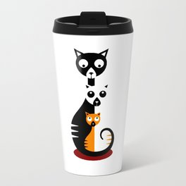 Cats Family Travel Mug