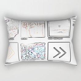 BEAK Rectangular Pillow