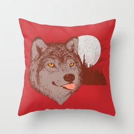 Spirit Derp Throw Pillow