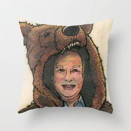 Bear Suit Marc Throw Pillow